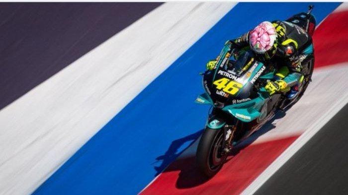 Cerita Humor di Balik Desain Helm Rossi pada MotoGP San Marino 2021