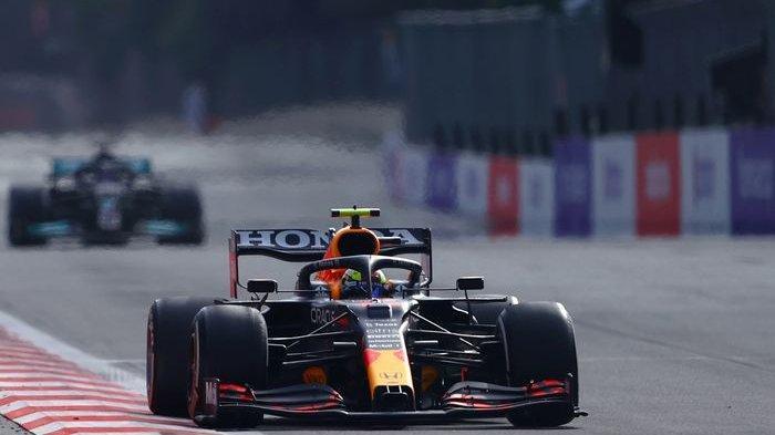 Hasil F1 GP Azerbaijan 2021: Sergio Perez Juara, Sebastian Vettel Podium ke-2, Hamilton Finis Buncit