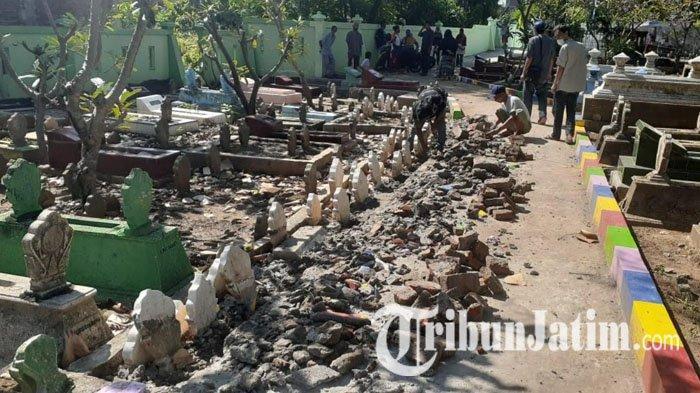 Jalan Baru Selesai Dibangun di Atas Makam Kota Madiun Dibongkar, Ahli Waris Sayangkan Pembangunan