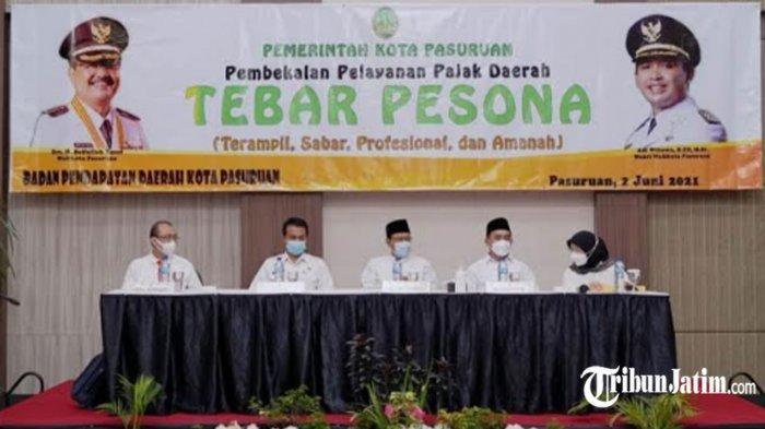 Pendapatan Pajak Kota Pasuruan Ditarget Meningkat Tahun Ini, Wali Kota Gus Ipul Beber 3 Tahapan