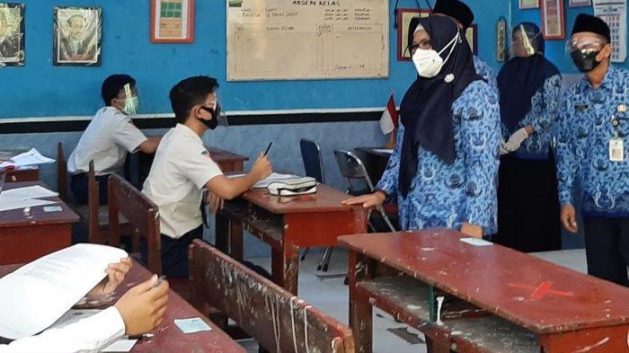 80 Persen SD dan SMP di Gresik Jalani PTM Hari ini, Tetap Wajib Terapkan Protokol Kesehatan