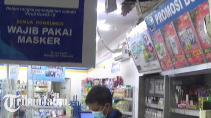 Indomaret di Magetan Dibobol Maling, Alarm Toko Bunyi, Pelaku Hanya Sempat Bawa Beberapa Slop Rokok