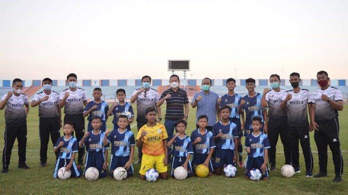Resmi Diluncurkan, Persela Football Academy Ingin Cetak Bibit Unggul Pemain Sepak Bola