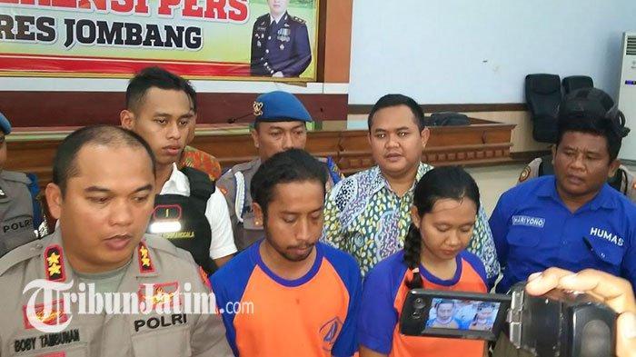 MODUS Cari Tempat Kos, Berniat Kuasai Harta, Pasutri Ini Kompak Bunuh Guru SMPN di Jombang