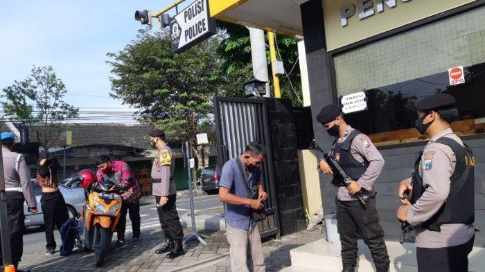 Kapolres Kediri Perketat Penjagaan Mapolres Pasca Serangan Teroris di Mabes Polri