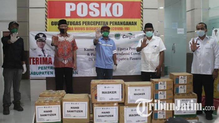 Pemkab Pasuruan Terima Ribuan Peralatan Medis & Paket Sembako dari Cargill, Siap Didistribusikan