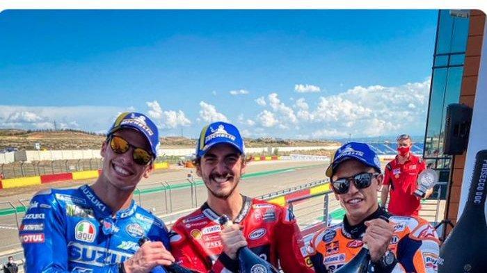 Naik Podium di MotoGP Aragon 2021, Bos Honda Sanjung Perjuangan Marc Marquez: Fantastis