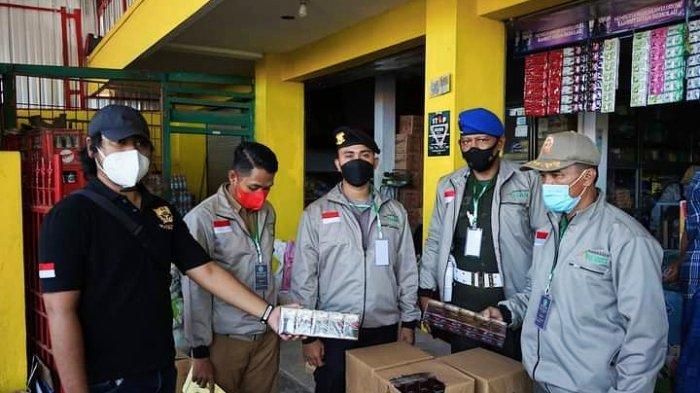 Pemkab Pamekasan Serius Berantas Rokok Ilegal, Sebanyak 50.296 Batang Diamankan Saat Operasi Pasar