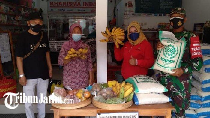 Tingkatan Imun Warga di Masa Pandemi Covid-19, Pemkot Kediri Bagikan Bantuan Pangan Non Tunai Daerah