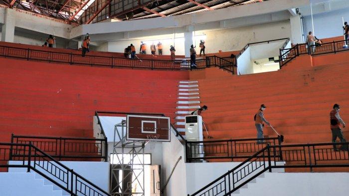 GOR Indoor Gelora Bung Tomo Mulai Disiapkan Jadi Rumah Sakit Darurat Covid-19