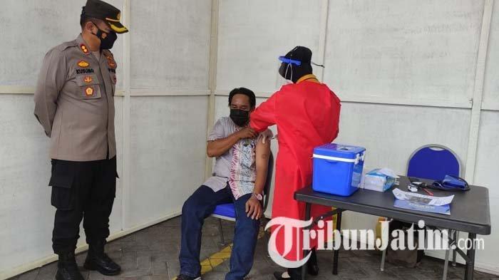 Urus SIM di Sidoarjo Bisa Dapat Vaksin Covid-19 Gratis, Tiap Hari Tersedia Kuota Sekitar 100 Orang