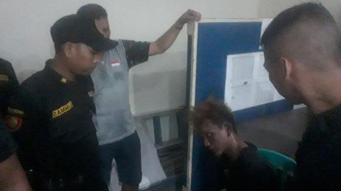Pemuda Surabaya Bonyok Dihajar WargaGegara Curi Motor, Berkomplot saat Beraksi, Andalkan Kunci T