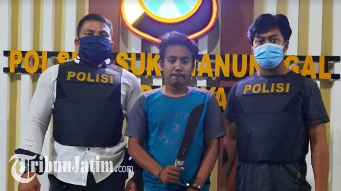 Sakit Hati Gegara Dipecat, Pria Madura Bawa Parang Kejar Bosnya ke Rumah Surabaya, Lihat Endingnya