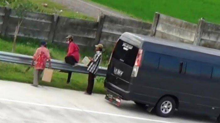 Rombongan Pemudik Keciduk PJR di Tol Ngawi saat Melintas Jalan Tikus, Penumpang Balik ke Desa