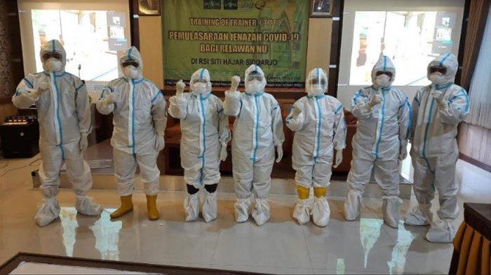 PWNU Jatim Gelar Pelatihan Pemulasaran Jenazah Pasien Covid-19, Gotong Royong Hadapi Pandemi