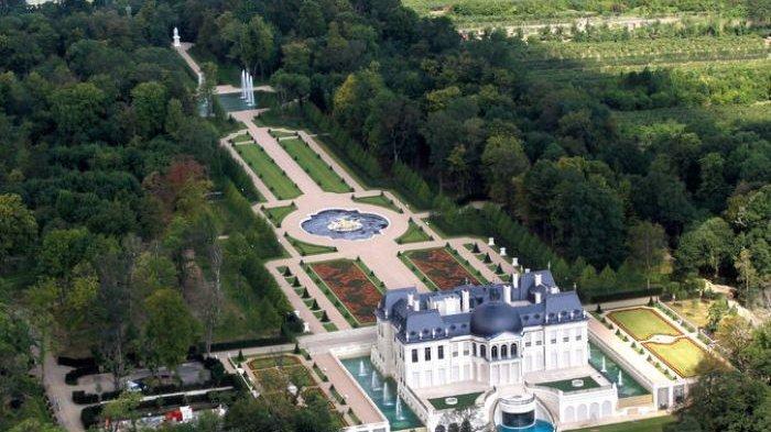 Penampakan hunian Pangeran Arab, Mohammed bin Salman yang disebut sebagai rumah termahal di dunia