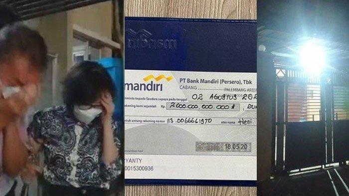 Pihak Bank Jawab Foto Bilyet Giro Rp 2 T Akidi Tio, Penampakan Rumah Heryanti Bocor: Cuma Ada Motor