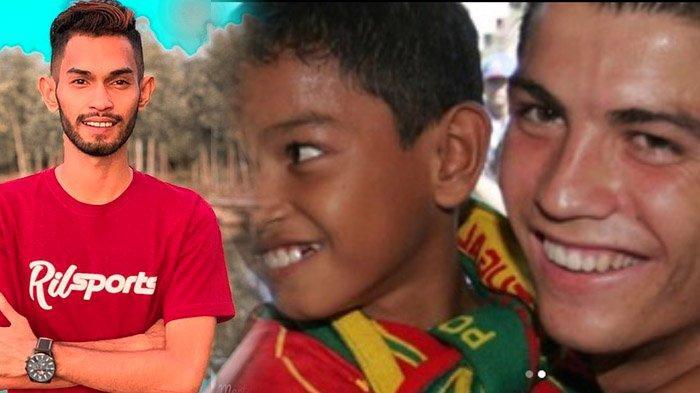 Martunis Anak Angkat Ronaldo Kini Malah Jadi Kader Demokrat, Dulu Tolak Tawaran ke Manchester United