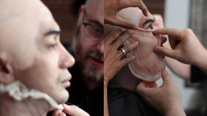 Potret Transformasi Reza Rahadian Jadi BJ Habibie dengan Makeup, Didandani 7 Jam, Lihat Hasilnya
