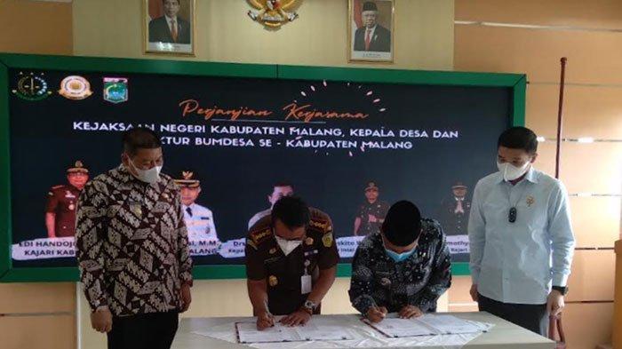 Kejaksaan Negeri Kabupaten Malang Ingatkan Kepala Desa Tidak Boleh Terlibat Dalam Kegiatan BUMDEs