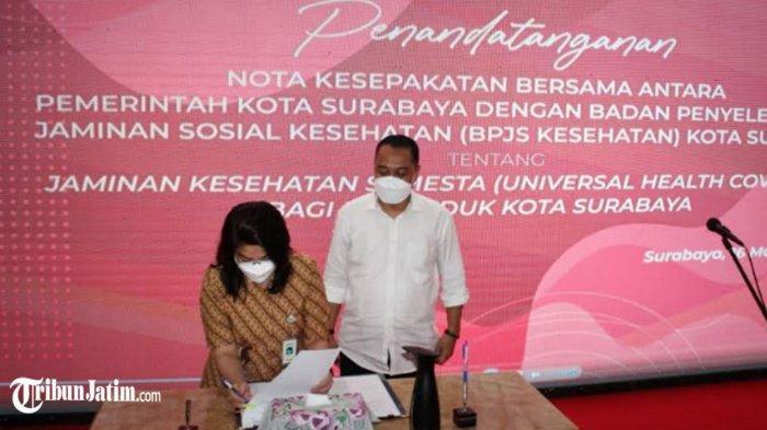 BPJS Kesehatan-Pemkot Surabaya Hadirkan 'Jaminan Kesehatan Semesta', Siap Diluncurkan April 2021
