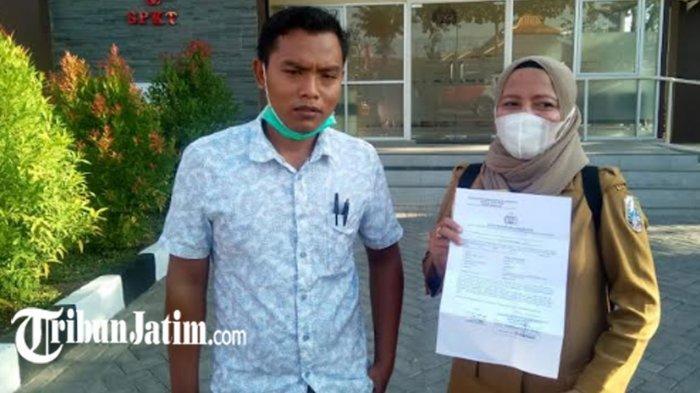 Awalnya Selingkuh, Anggota Kepolisian Kabupaten Sampang Ini Dilaporkan Istri Terlantarkan Keluarga