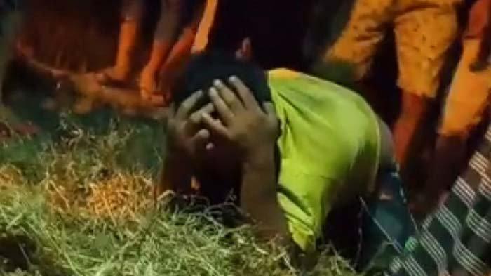 'Ampun Bos' Teriakan Pencuri di Mojokerto yang Bonyok Diamuk Massa Setelah Gondol Gabah Kering
