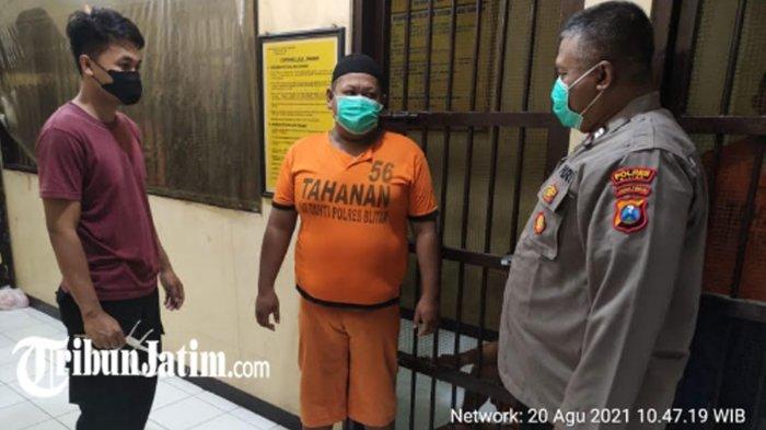 Tidur Pulas Setelah Sukses Curi Motor, Maling Kecamatan Talun Kaget Saat Bangun Dikerumuni Polisi