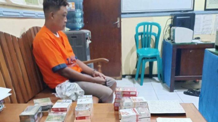 Polsek Ponorogo Amankan Pencuri Spesialis Rokok: Tak Mau Ambil Uang Atau Barang Lain