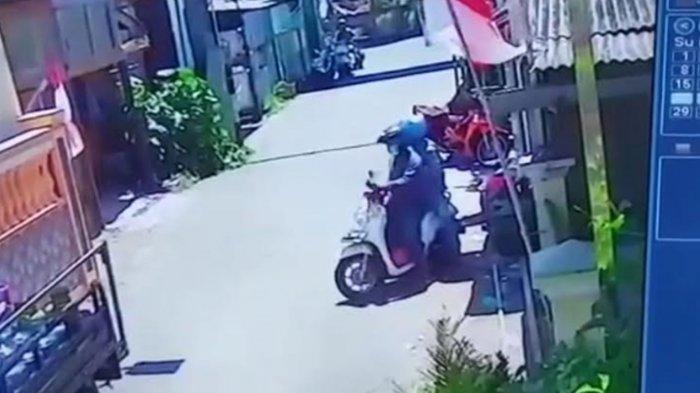 Komplotan Bandit Gasak Motor Penjual Sayur Surabaya, Beraksi Kurang Dari 10 Detik Saat Siang Bolong