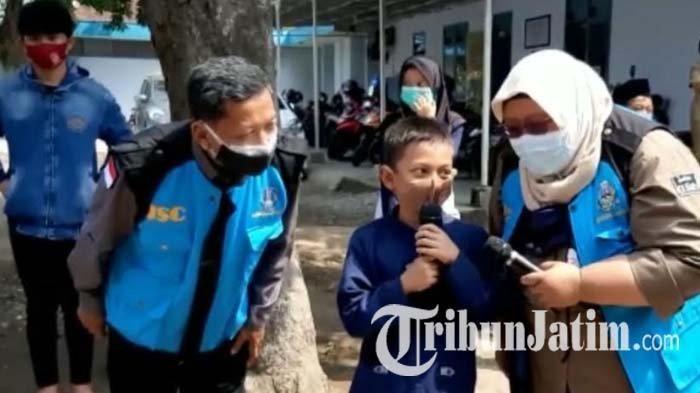 Puluhan Anak Yatim dan Piatu Akibat Covid-19 di Kabupaten Kediri Dapat Pendampingan Psikososial