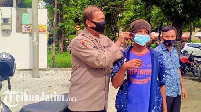 Kapolres Kediri Ingatkan Jangan Bosan Memakai Masker: Jaga Keluarga dari Potensi Penularan Covid-19