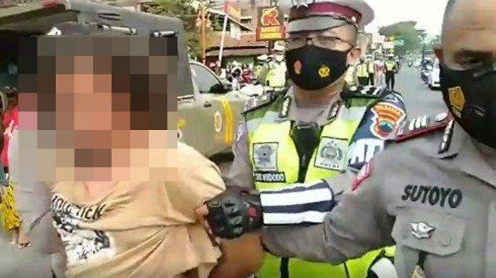 Pukul Penegak Prokes Gegara Tak Terima Kena Razia Operasi Masker, Pria Solo Ini Ditangkap Polisi