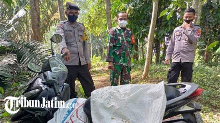 Diduga Jasad Perempuan dalam Karung Dibunuh Pria yang Bunuh Diri di Kebun Sengon Ponggok Blitar