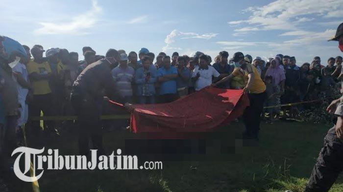 BREAKING NEWS: Mayat Pria Misterius Tergeletak di Lapangan Sampang, Diduga Dibunuh, Ada Luka Bacok