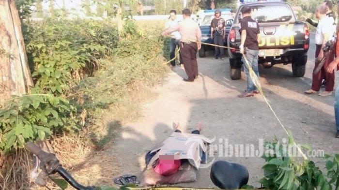 Penemuan Mayat Wanita di Tepi Jalan Madiun - Jombang, Ada Chat Asmara di Ponsel Korban