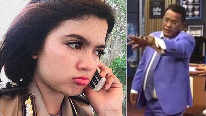 Pengacara Hotman Paris Hutapea dan Bripda Vani Simbolon yang viral.