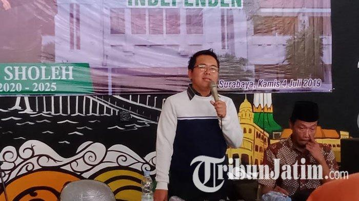 Maju Pilwali Surabaya 2020 dari Jalur Independen, M Sholeh : Kalau Lewat Parpol Ruwet
