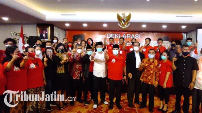 Ahmad Basarah Pimpin Barisan Soekarnois Dukung ErJi Menang Tebal di Pilkada Surabaya