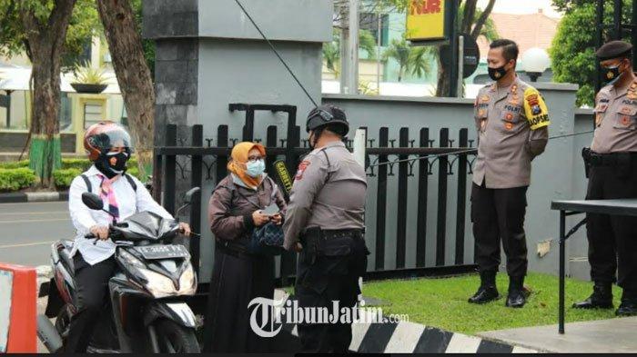 Akses Masuk ke Polres Tuban Diperketat Pasca Aksi Teror di Makassar dan Mabes Polri