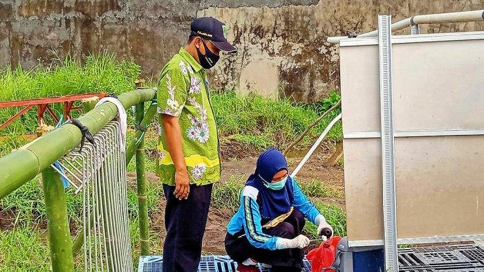 Uji Lab, Dinkes Kabupaten Pasuruan l Ambil Sample Air di Sumber Air Panas Kepulungan