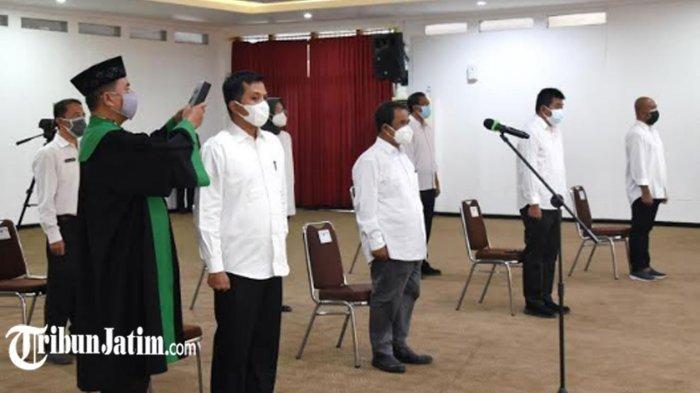 6 Pejabat Tinggi Pratama dan 1 Administrator Pemkot Kediri Dimutasi, Dintuntut Solutif Atasi Pandemi