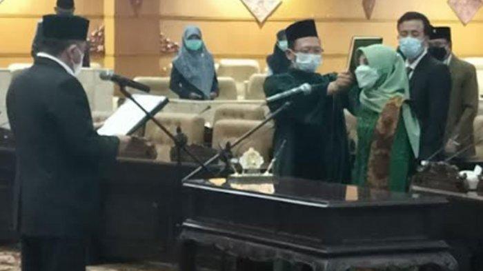 Resmi, Siti Mukiyarti Sekretaris Muslimat NU Kabupaten Trenggalek Gantikan KH Kusni di DPRD Jatim