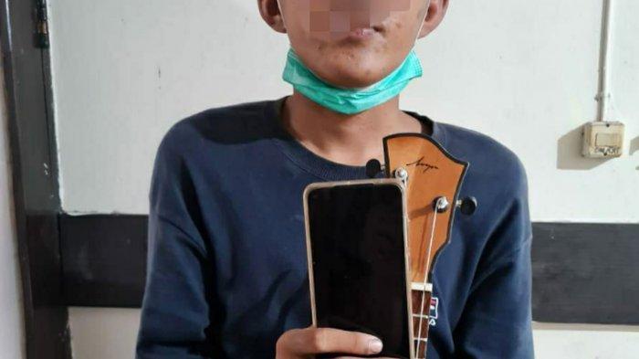 Ngamen Keliling Sambil Cari Kesempatan Mencuri, Pemuda Kediri Ditangkap Polres Tulungagung
