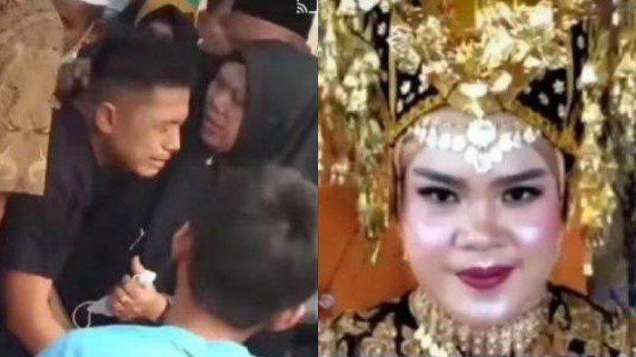 Tragis Pengantin Wanita Tewas Pasca Akad, Mempelai Pria Nangis Pilu, Videonya Viral, 'Merinding'