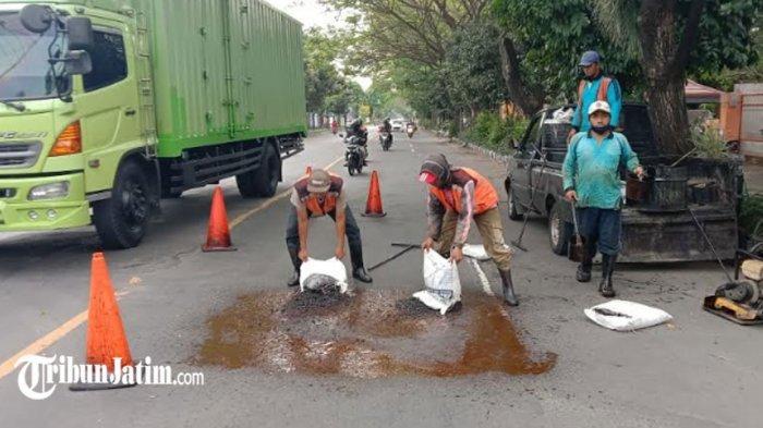 394 Jalan Rusak di Kota Kediri Diperbaiki, Laporkan Lainnya dengan Bersurat ke DPUPR Kota Kediri