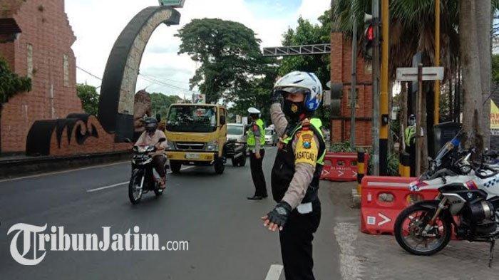 Pantauan Arus Lalu Lintas di Kota Malang H -1 Natal 2020: Mulai Terjadi Kepadatan Sejak Siang
