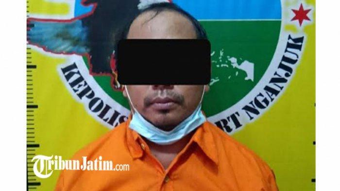 Seorang Wiraswasta Edarkan Sabu di Pasar Wage, Tersangka Diamankan Satresnarkoba Polres Nganjuk