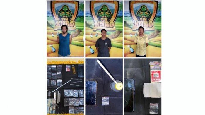 3 Pemuda Pengedar Narkotika Diringkus Polres Lumajang, Jual Sabu Kemasan Paket Hemat
