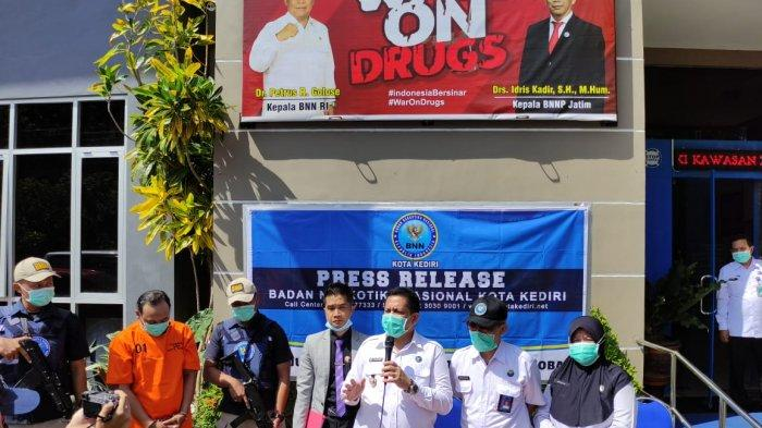 Komplotan Pengedar Sabu-sabu di Kediri Digrebek BNN, Satu Ditangkap Satu DPO